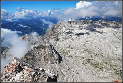 Schoenfeldspitze W view