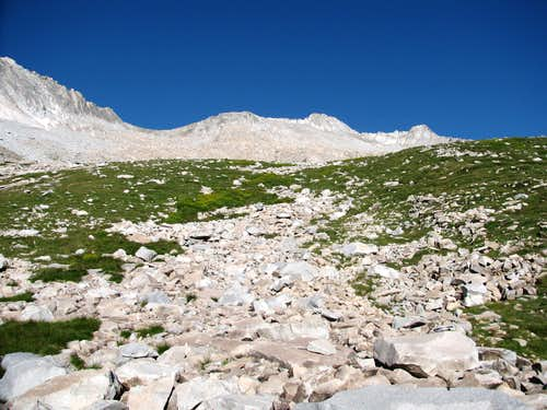 Above the Scree Slope