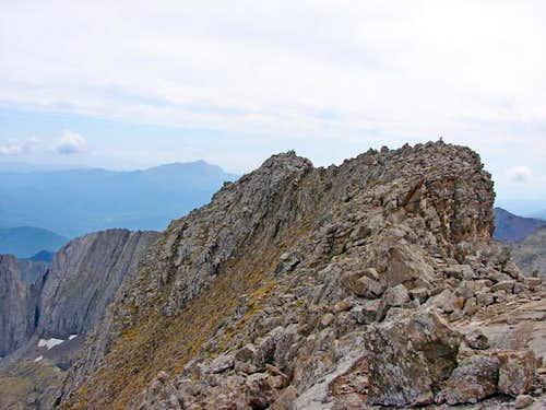 Summit of Diente de Llardana
