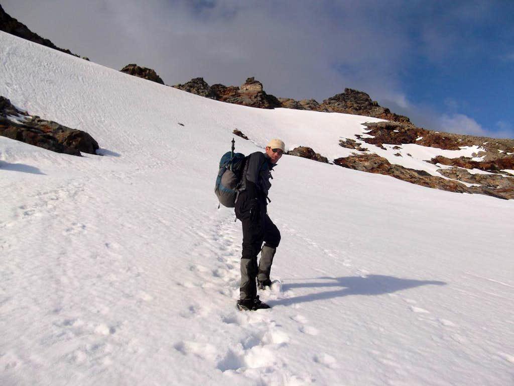 Sahale Glacier approach