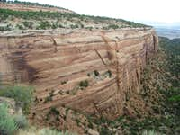 Curving Canyon Wall