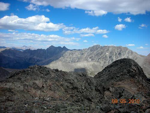 The Arapahoe Peaks