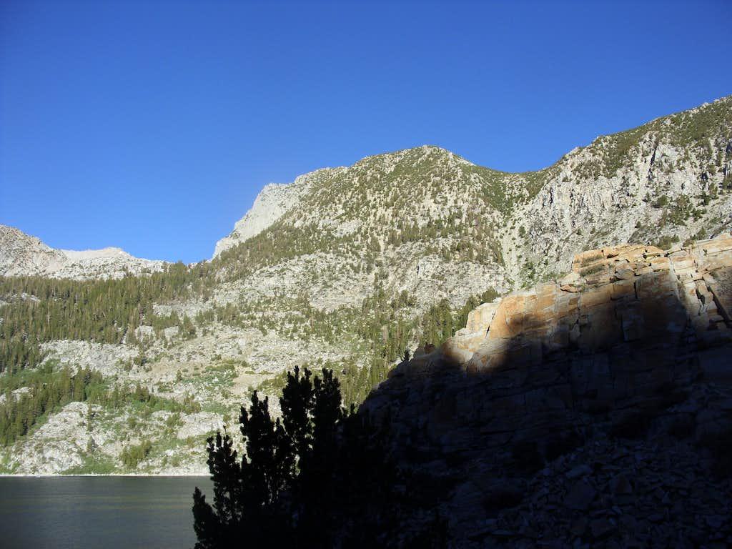 Point 11,938 from South Lake.  John Muir Wilderness - California