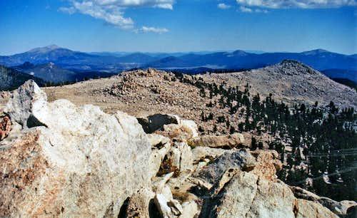 South from Smatko Peak