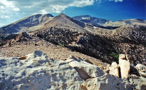 Cirque Peak and Mt. Langley