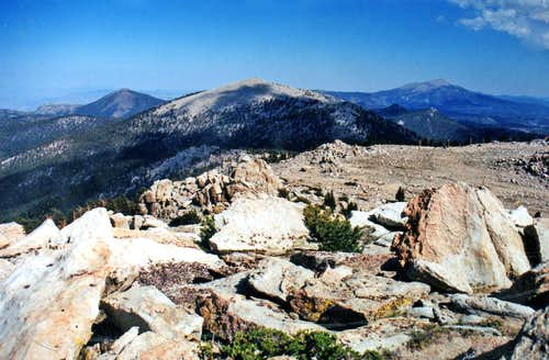 Southeast from Smatko Peak