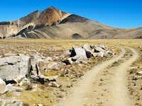 The road to White Mountain Peak