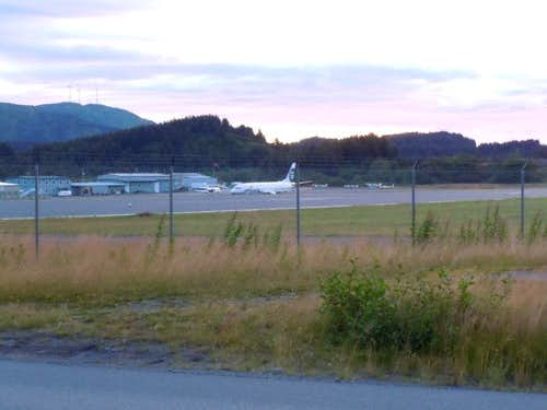 Alaska airlines in Kodiak