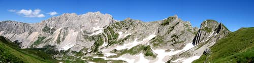Škrka valley - panoramic view