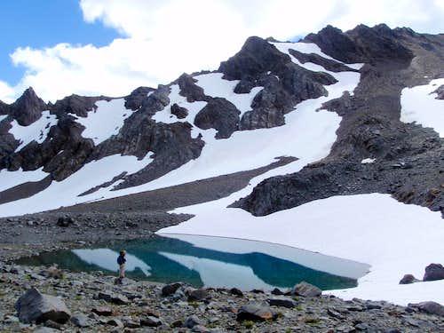 Lillian Glacier Tarn