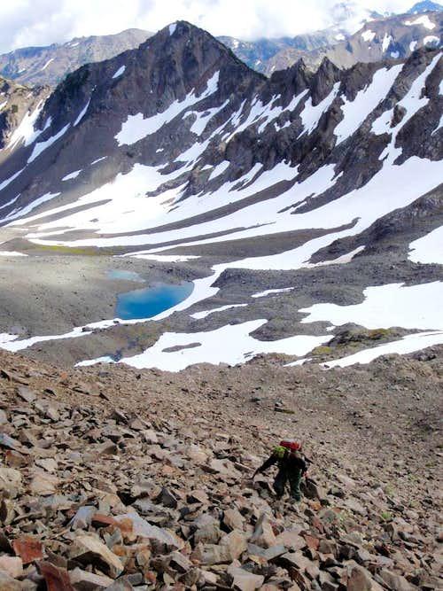 Lillian Glacier Basin