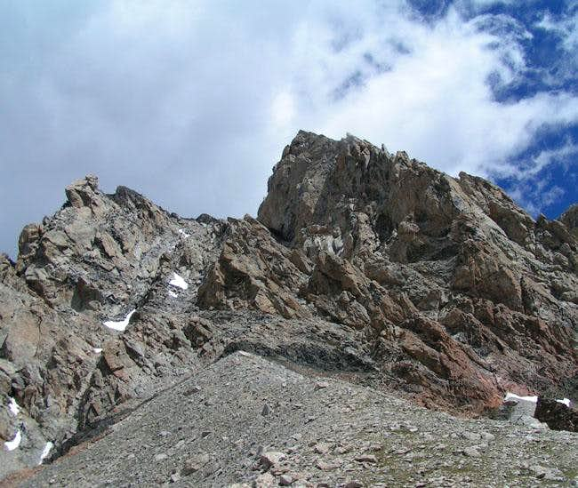 From the Lower Saddle.