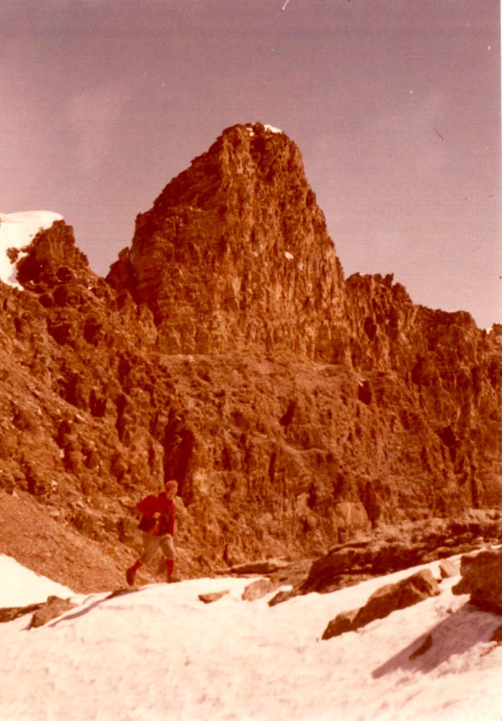 ToPERCIA's SOUTH SUMMIT (3209m) GARIBALDIANstep