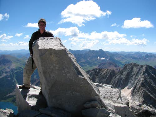 Summit of Snowmass Mountain