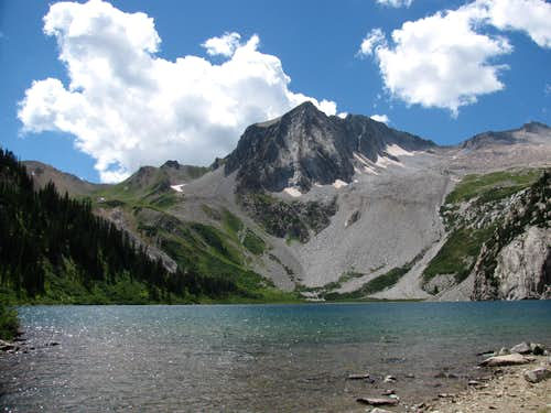 Snowmass Lake-Hagerman Peak