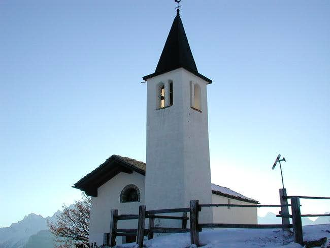 The small church of Vetan,...