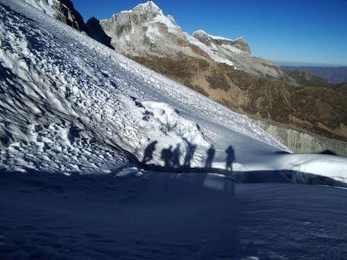Ishinca Glacier
