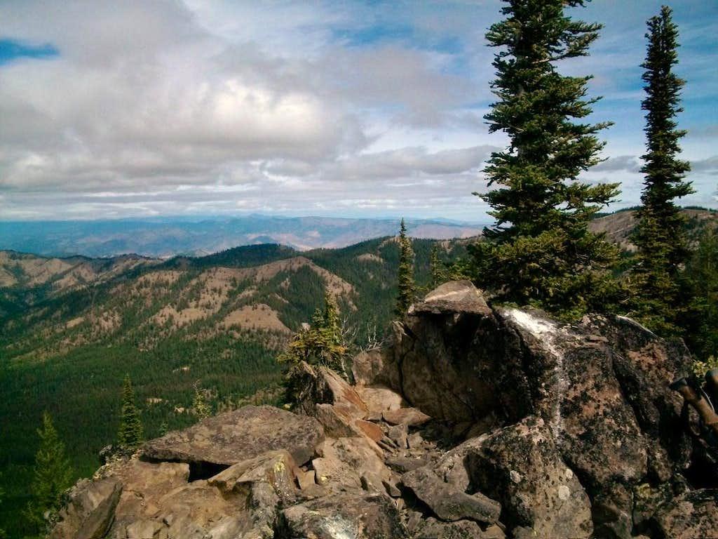 Summit rocks