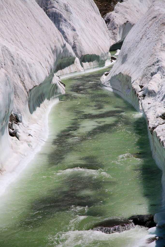 Stream at Baltoro Glacier