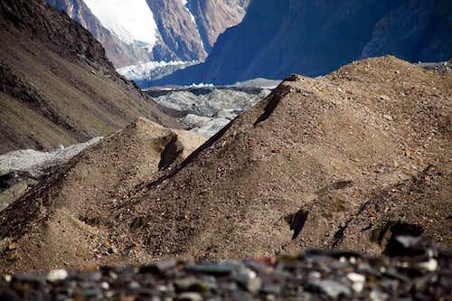 Near K2 base camp