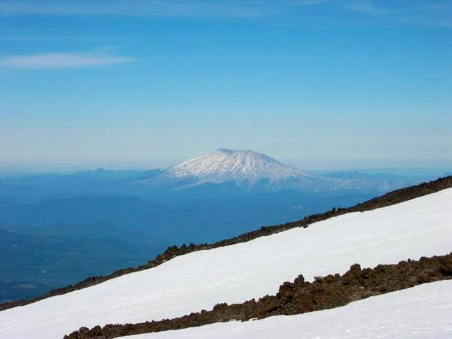 View of St. Helens from the...