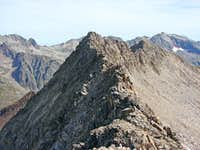 Collado de la Paul-full ridge