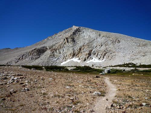 The NE Ridge Of Cirque Peak