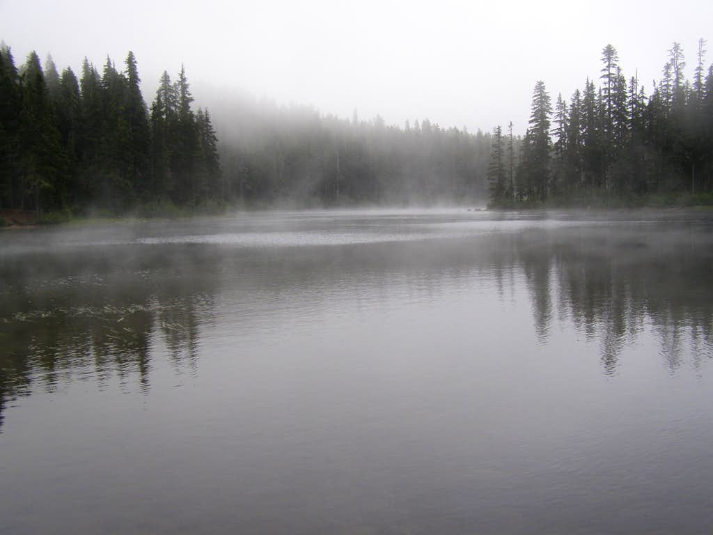 A Gloomy Thomas Lake