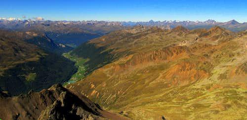 From Bernina to Silvretta