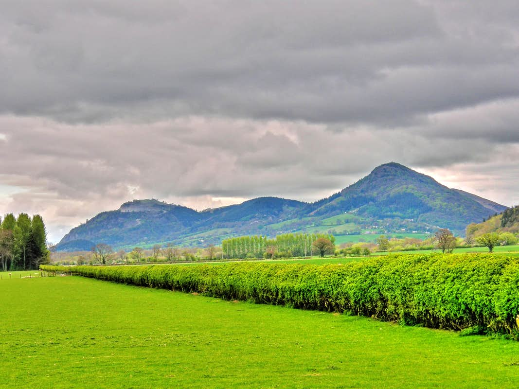Mountains And Hills Of Powys