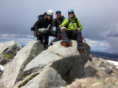 Gannett via the Glacier Trail in a Long Weekend