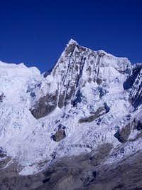Caraz II from Paron Glacier