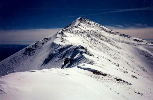 North ridge of Agassiz Peak