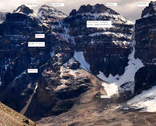 Schiesser Ledges Overview