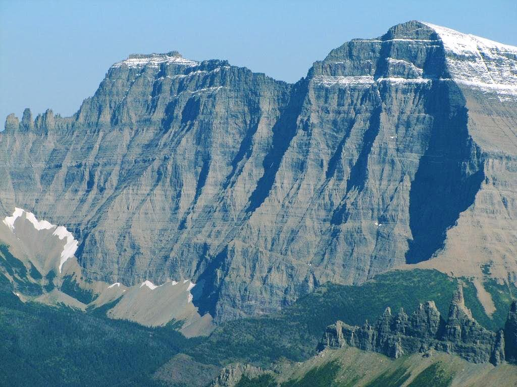 Mt. Cleveland's stupendous north face