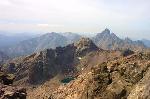 Lac de Cinto from Punta Crucetta