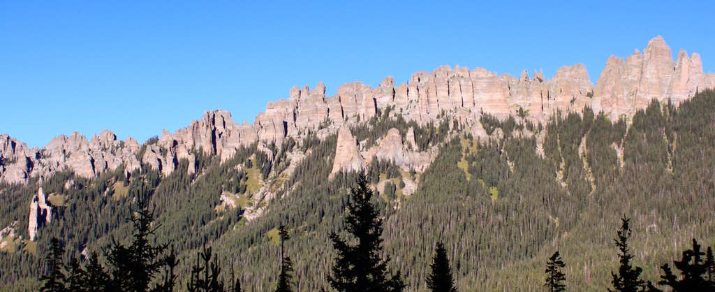 Jagged Cimmaron Ridge
