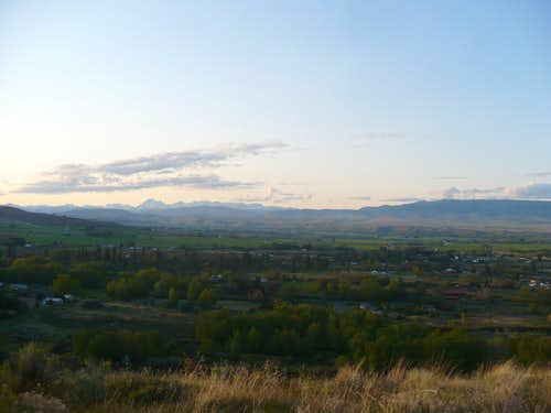 View of the Stuart Range