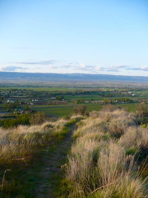 Trail on Manastash