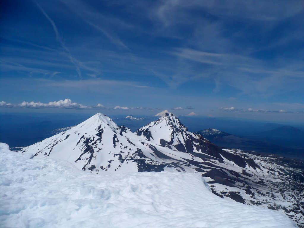 View from summit of South Sister
