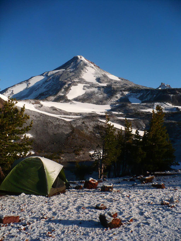 Camp at Chambers Lakes