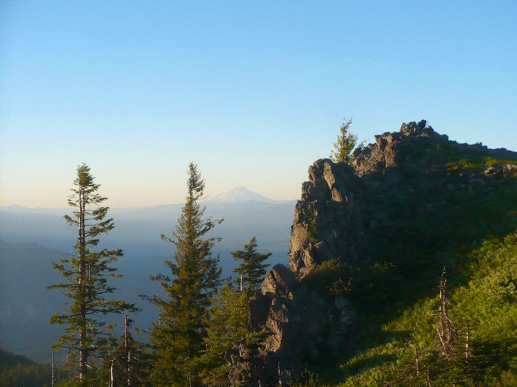 Mt. Jefferson from Horsepasture Mountain