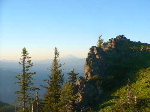 Mt. Jefferson from Horsepasture Mountain