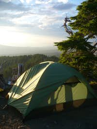 Campsite at Obsidian