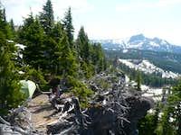 Campsite near Arrowhead Lake