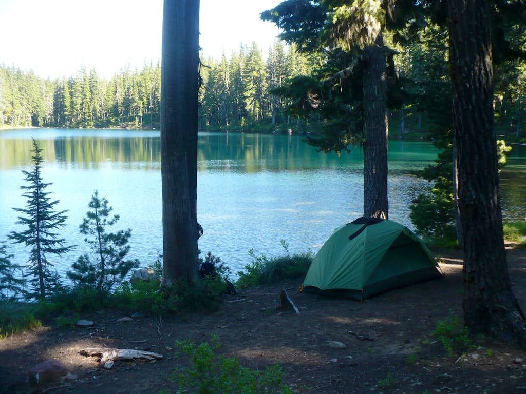 Campsite at Honey Lake