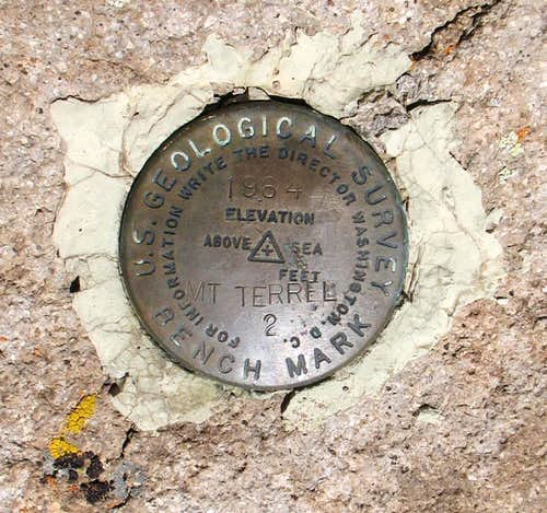 Mt. Terrill Benchmark