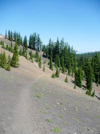Pacific Crest Trail near Minnie Scott Spring