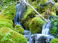 Waterfall near Spring Lake