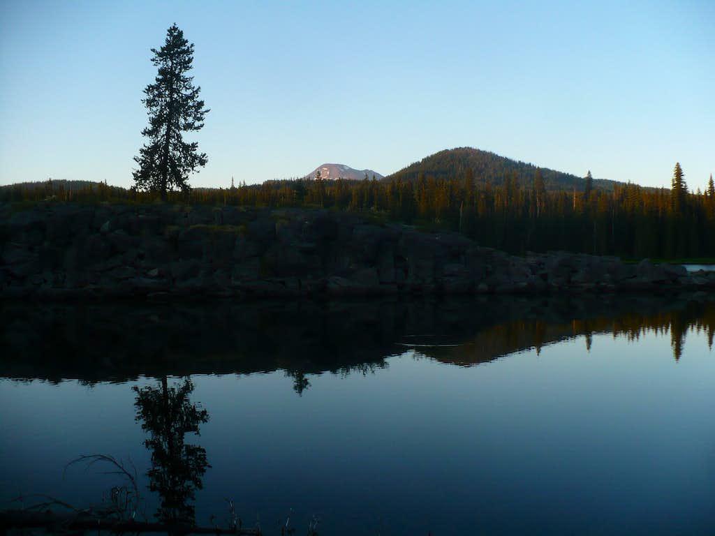 Sunset at Horse Lake